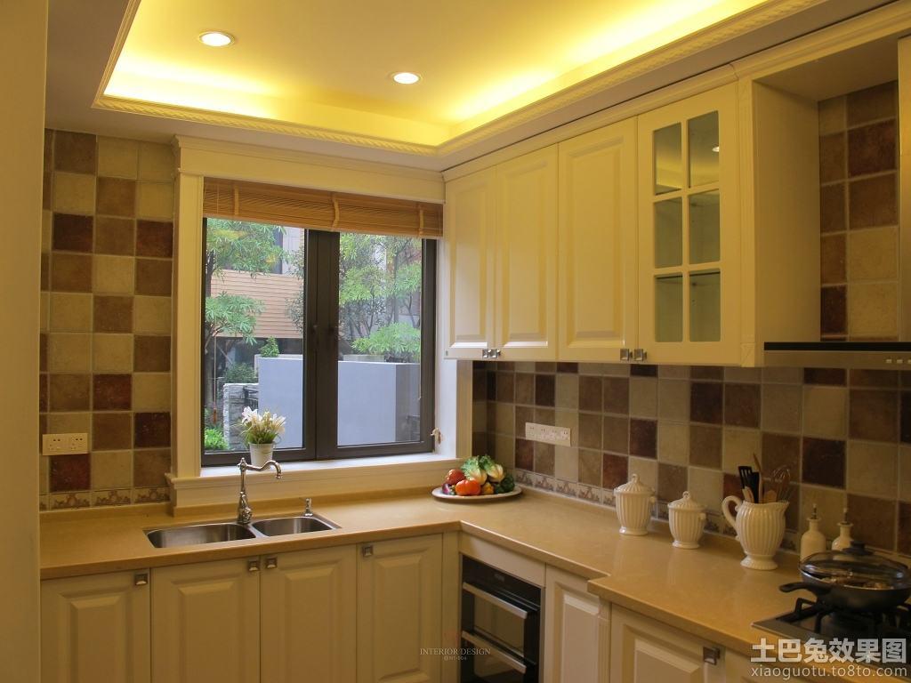 欧式风格厨房柜装修效果图装修效果图图片