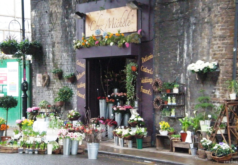 创意鲜花店门面装修效果图装修效果图