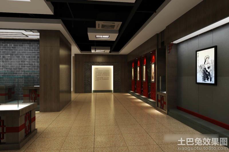 3d书画展厅设计效果图 (7/11)图片