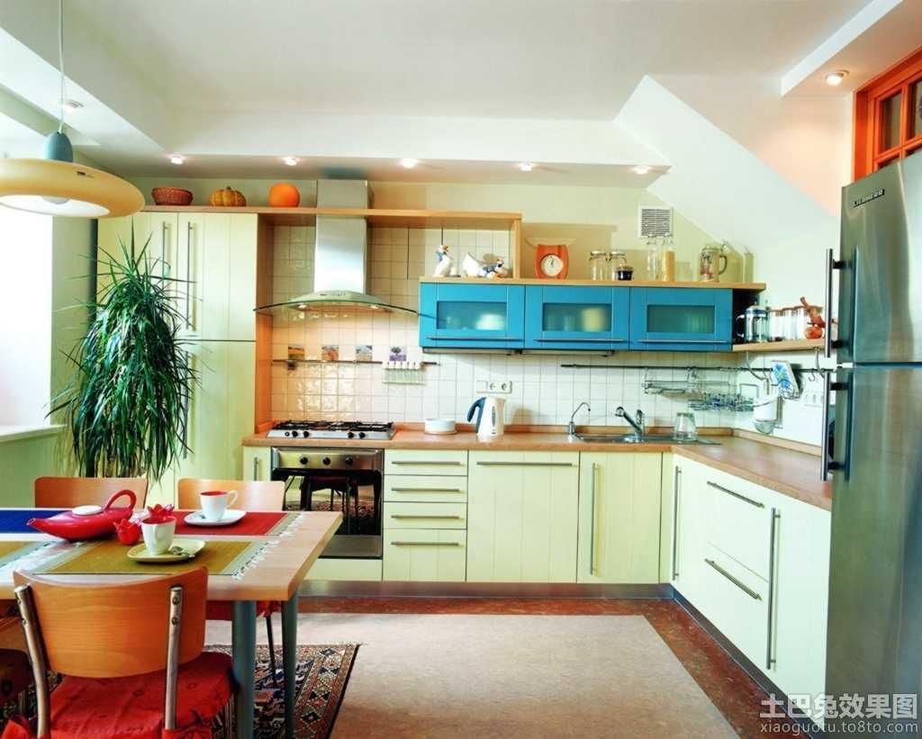 最新地中海风格厨房装修图片 (1/8)图片