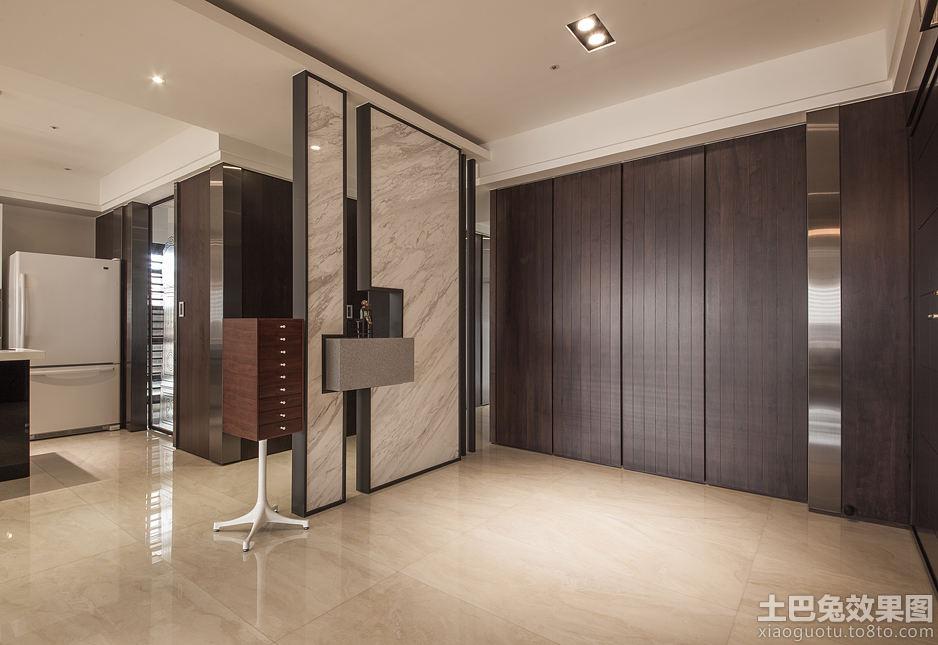 家庭室内隔断墙效果图片装修效果图 第4张 家居图库 九正家居网