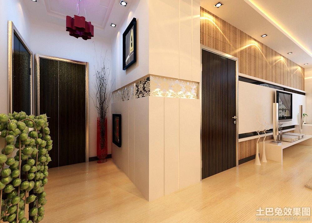 现代家居入户玄关设计图片欣赏装修效果图 第2张 家居图库 九正家居网高清图片