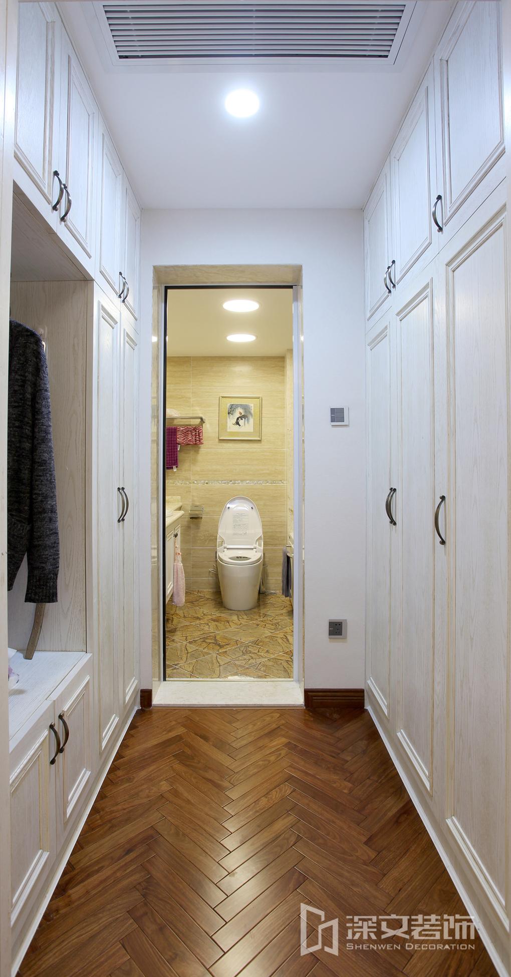 卫生间过道地板装修设计装修效果图