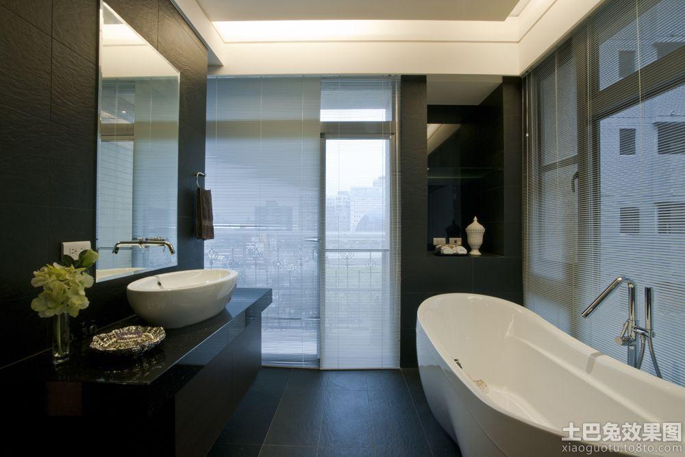 现代家庭浴室装修图片装修效果图