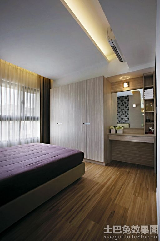 简约卧室木地板贴图装修效果图_第3张 - 家居图库