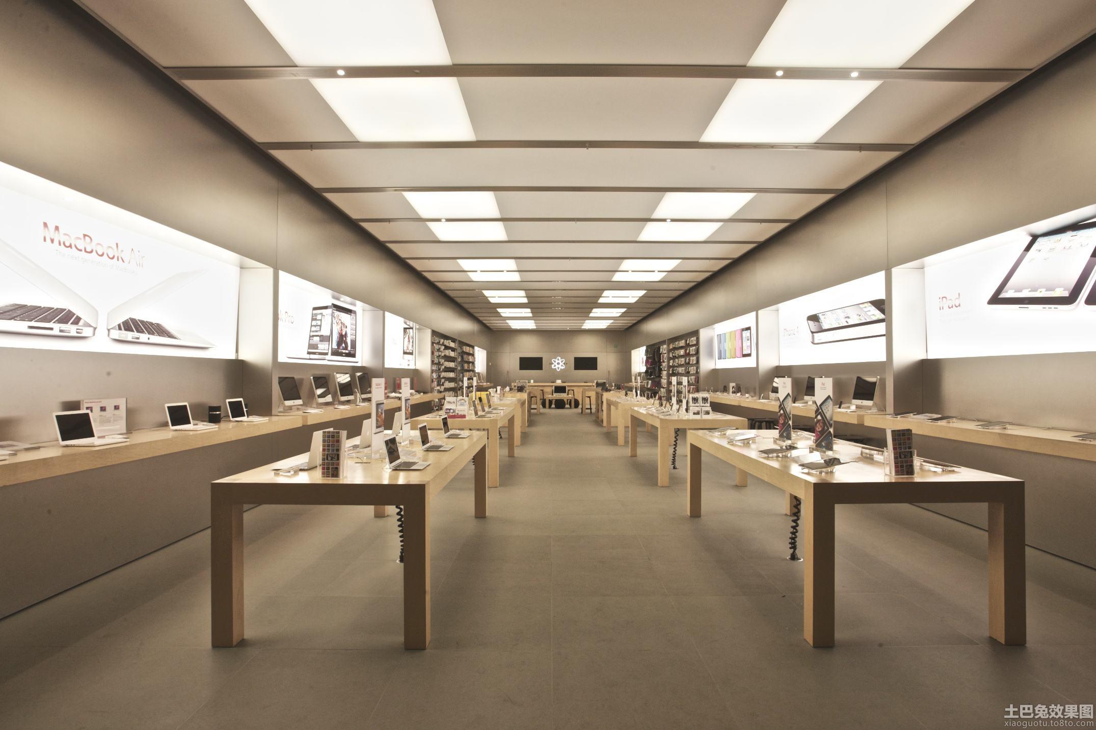 苹果商店下载_苹果店装修设计图店铺商场装修商业装修