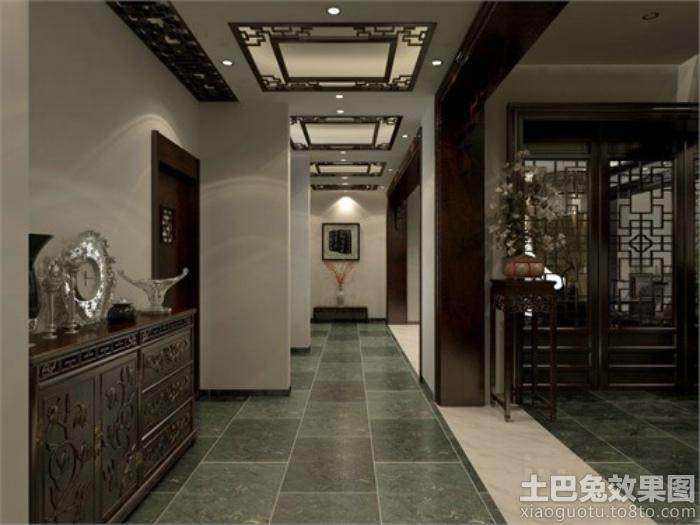 现代中式雕刻花纹展示