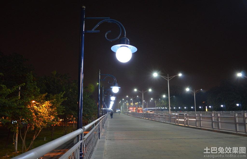 夜晚路灯图片欣赏装修效果图