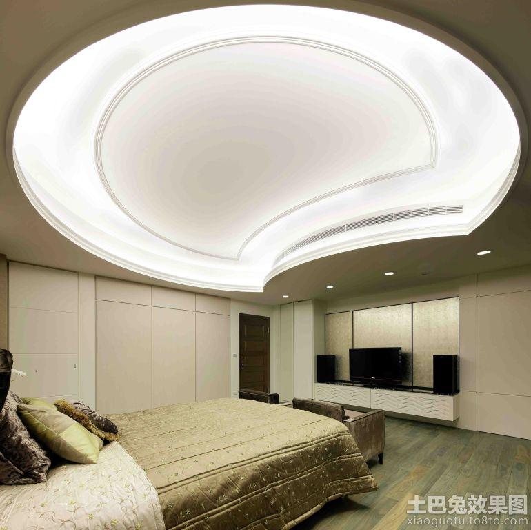 别墅卧室吊顶设计装修效果图