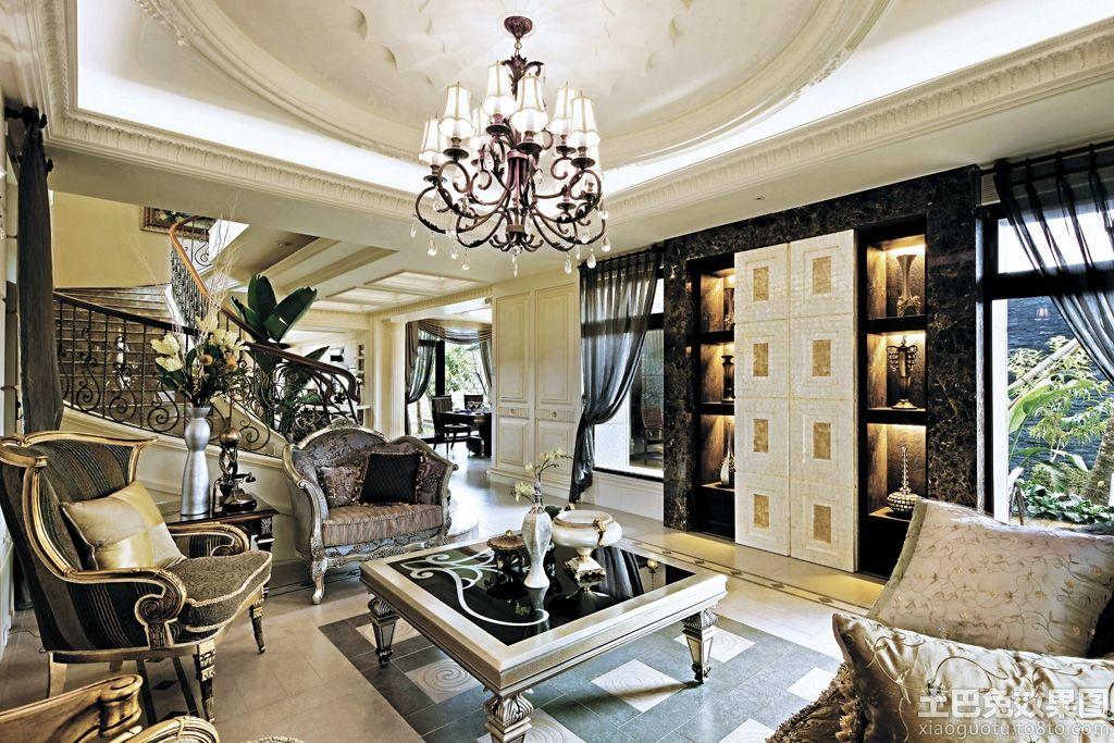典主义风格别墅室内装修效果图装修效果图 第6张 家居图库 九正家居高清图片