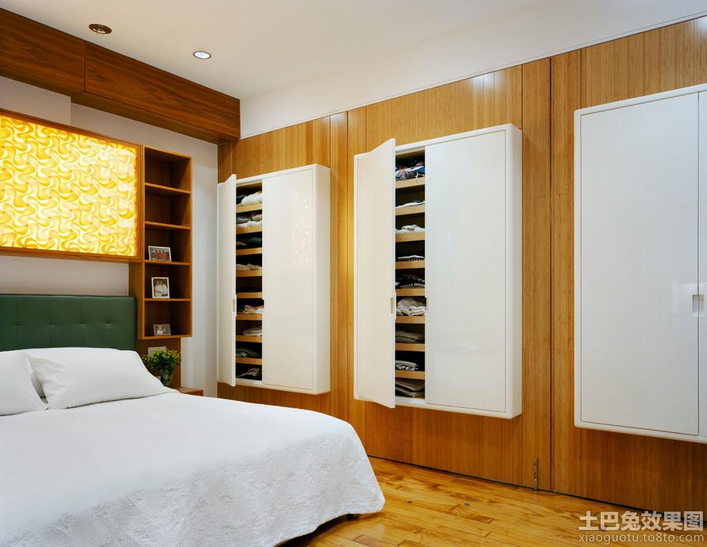 卧室入墙式衣柜图片装修效果图