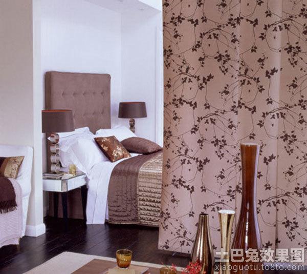 复古风格 卧室隔断帘 图片装修效果图 第3张 家高清图片