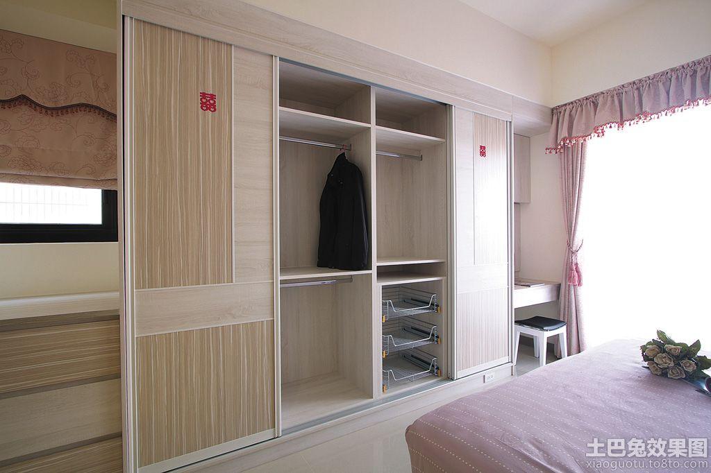 卧室入墙式衣柜效果图片装修效果图