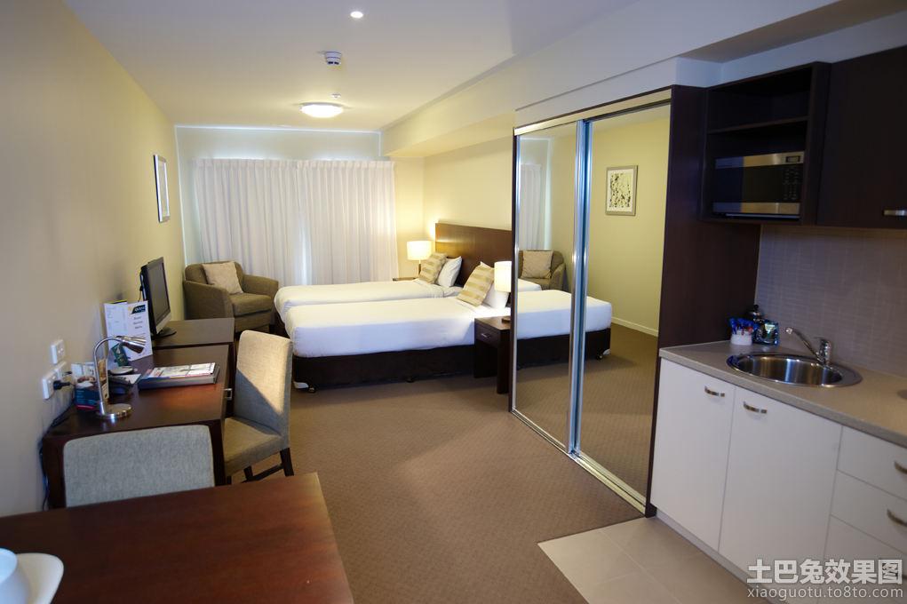 30平米酒店式公寓装修效果图 4 23