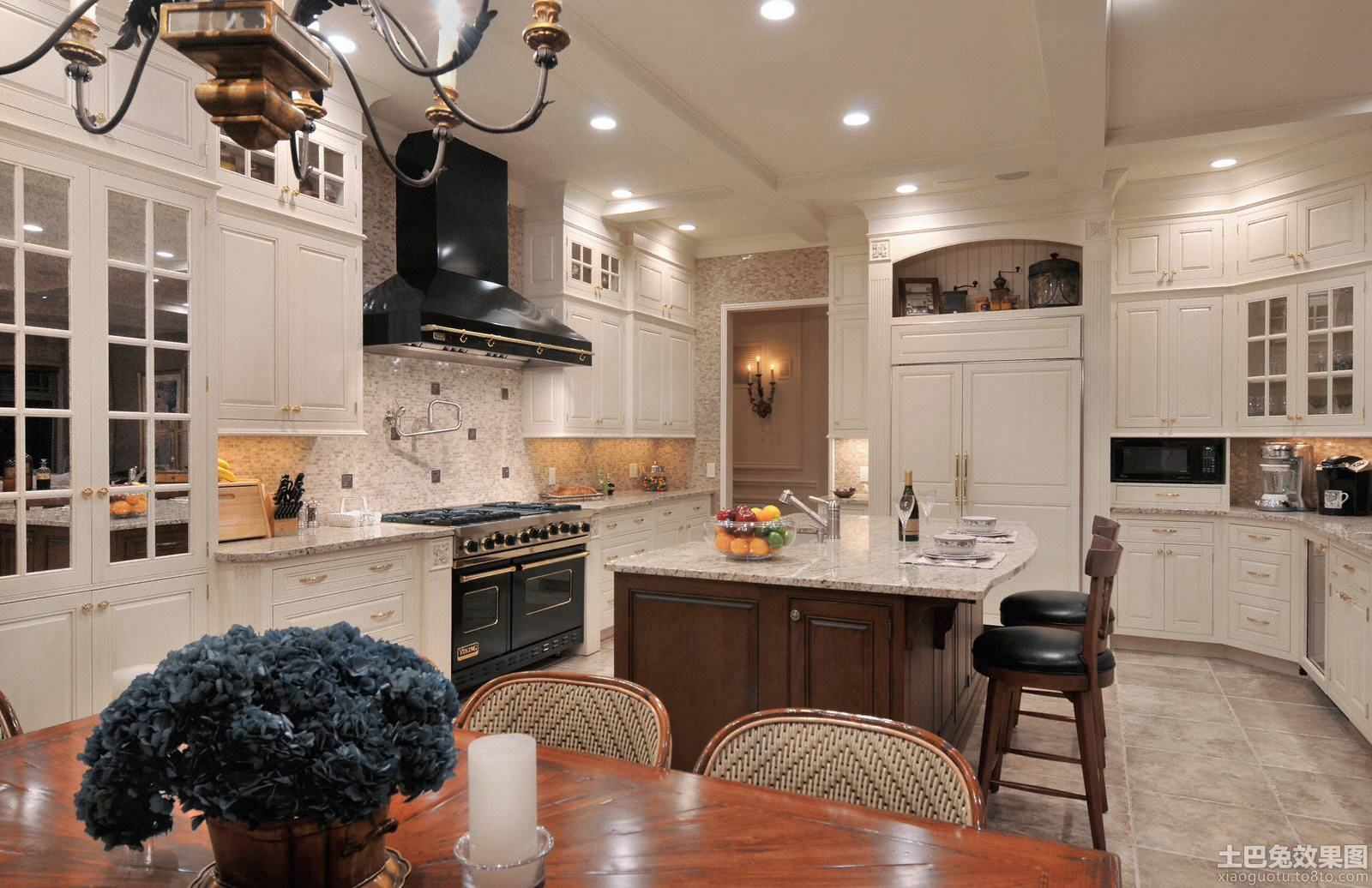简欧式厨房装修图片欣赏装修效果图