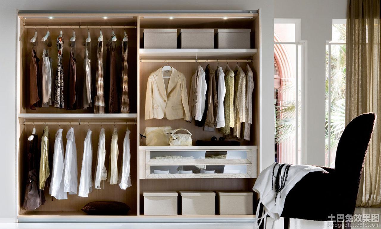 简单衣柜格局图片装修效果图