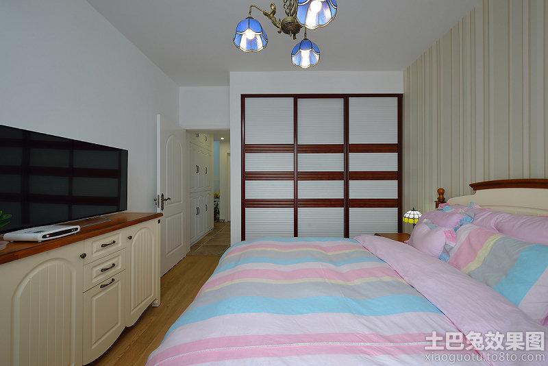温馨家庭主卧室图片装修效果图