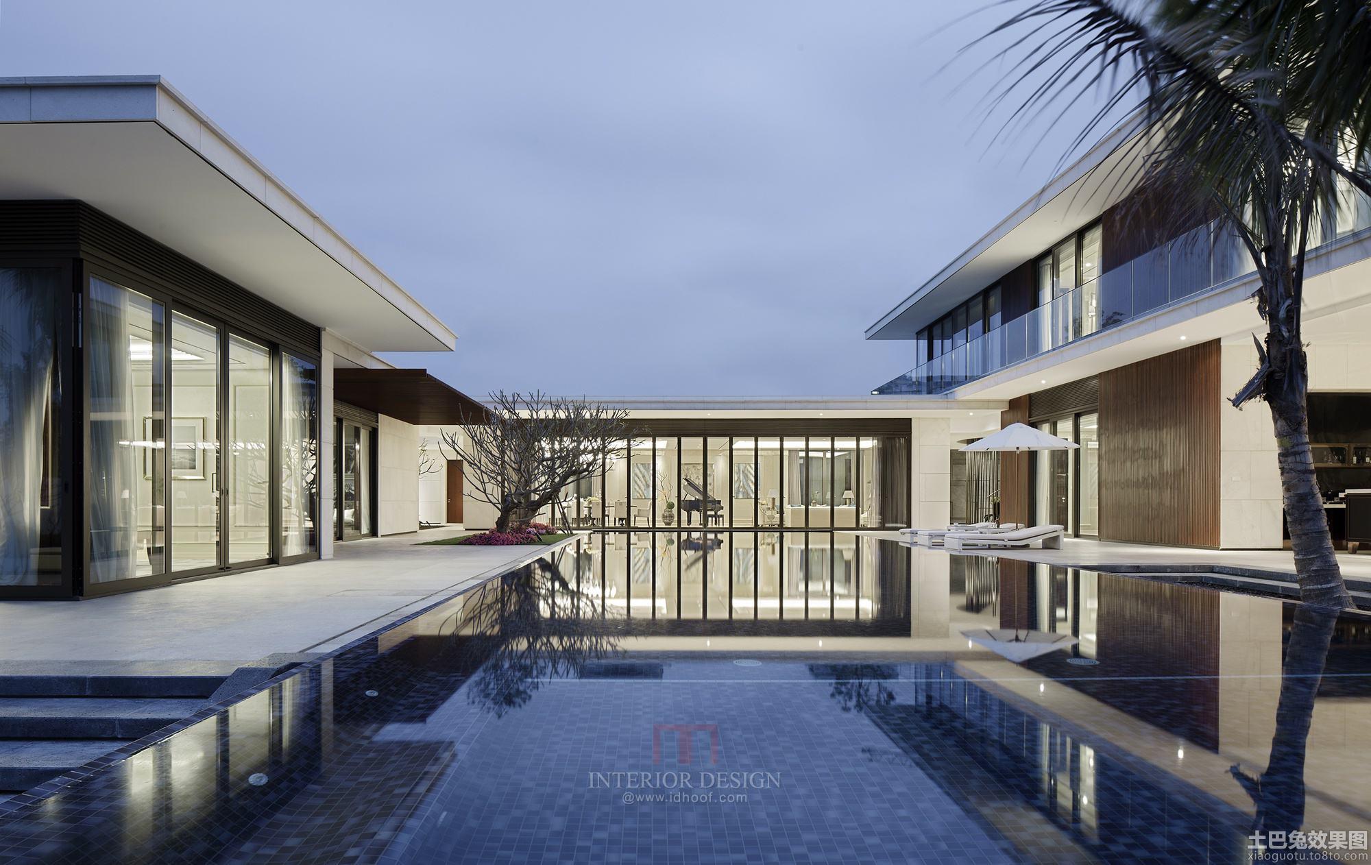豪华别墅游泳池装修效果图片大全装修效果图