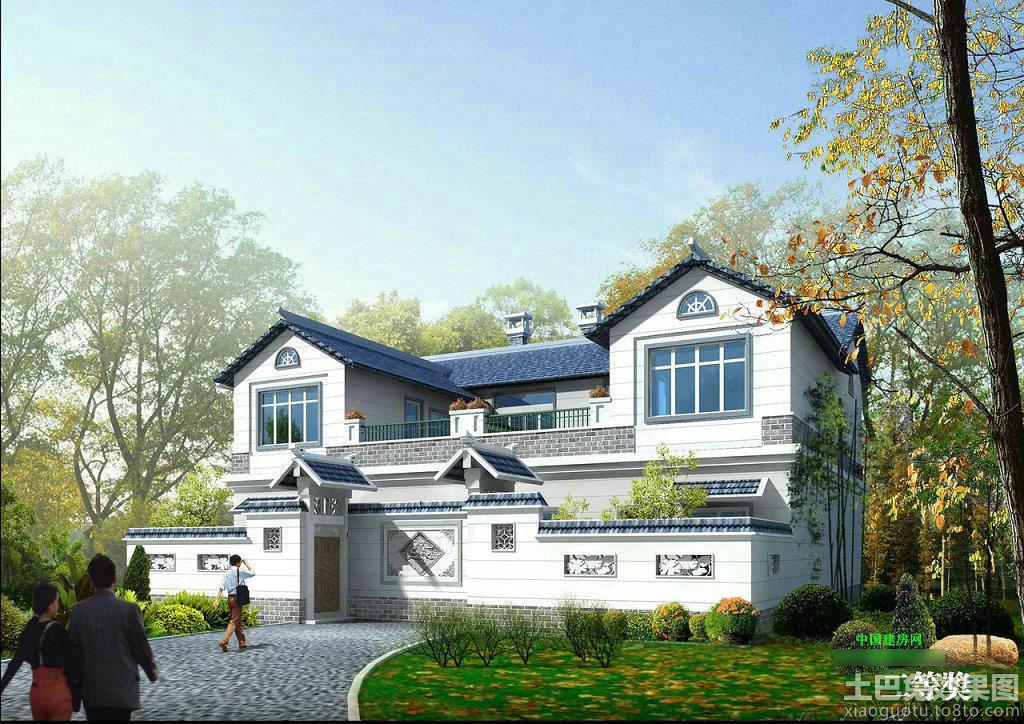中式新农村别墅设计图装修效果图