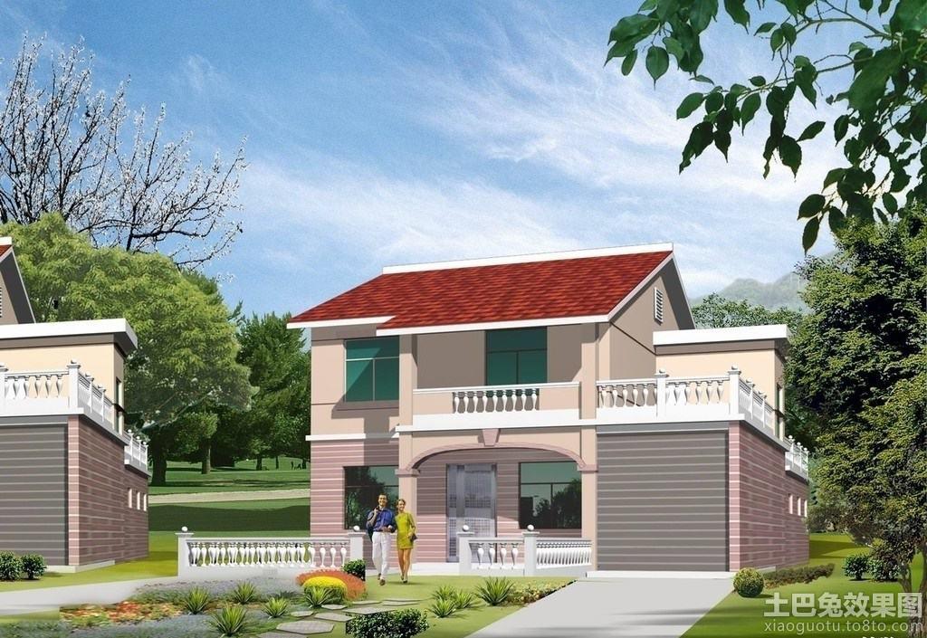 二层新农村别墅设计图装修效果图