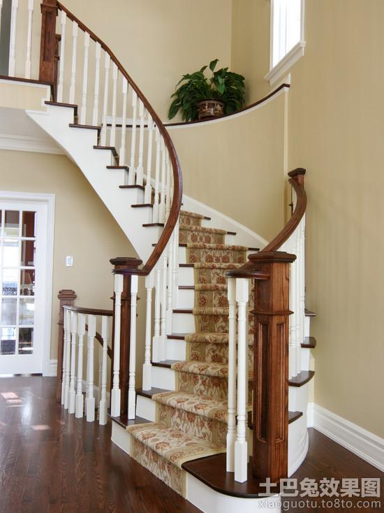 别墅装修旋转楼梯设计图装修效果图