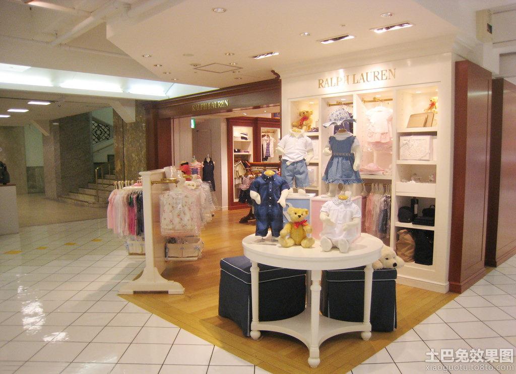 小儿童服装店面装修设计装修效果图