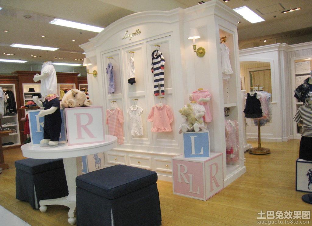 儿童服装店面设计装修效果图