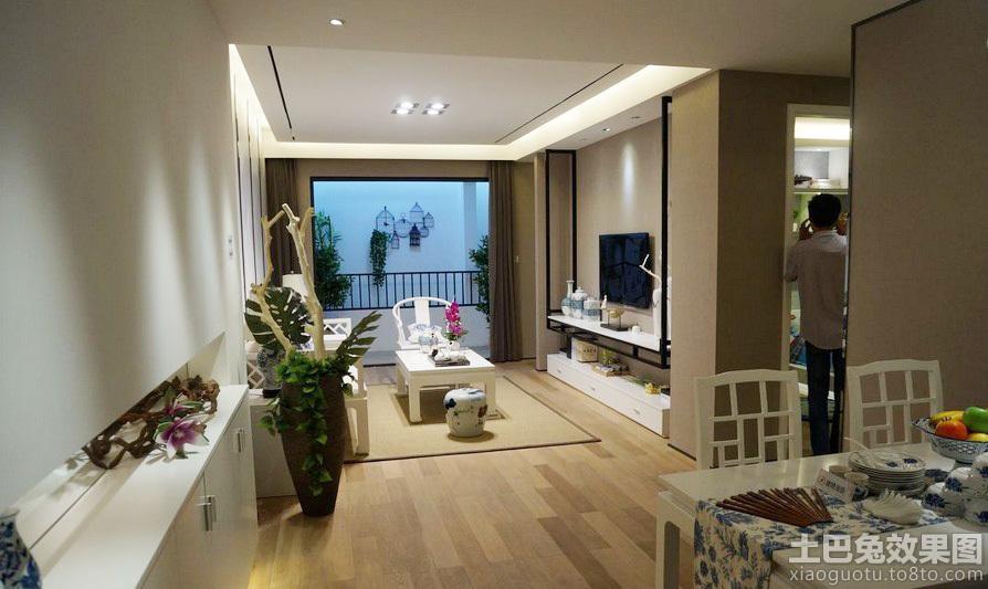 新中式风格两室一厅室内装修图 (6/6)图片