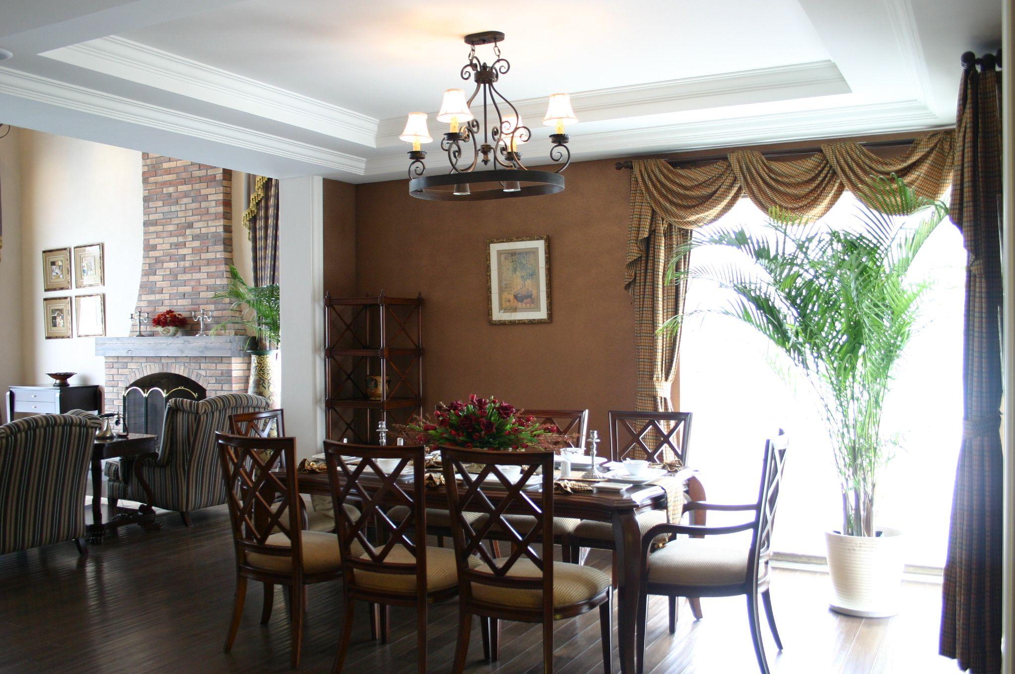 美式 风格 西餐厅设计 效果图欣赏大全2014图片高清图片