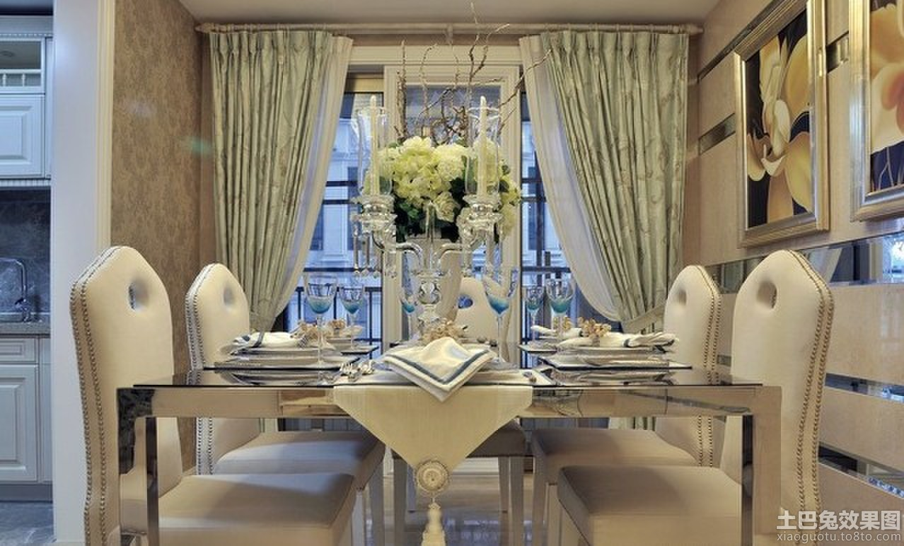 高档装修室内餐桌装饰品图片欣赏装修效果图 第3张 家居图库 九正家高清图片