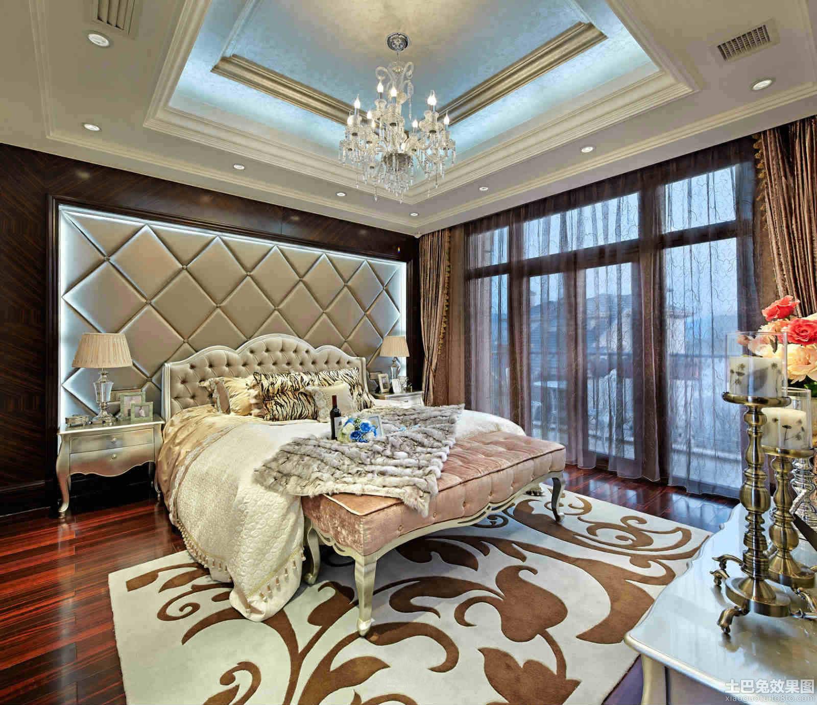欧式主卧室豪华装修效果图装修效果图图片