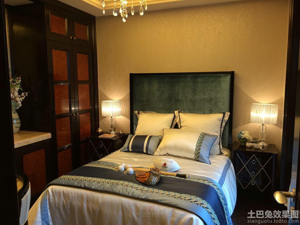 后现代风格三室两厅卧室设计效果图装修效果图_第6张图片