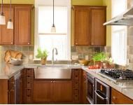 简约风格小户型厨房装修橱柜效果图