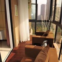 客厅阳台装修效果图 封闭式阳台装修效果图2012图片 (10 张图)