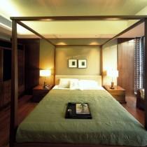 简中式120平米房屋客厅木龙骨吊顶效果图 装修效果图片