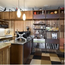 咖啡厅水吧装修 (10 张图)