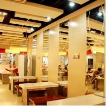 中式快餐厅设计 装修效果图集 - 九正家居网图片