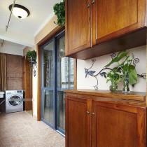 包邮特价简约现代卧室衣柜三门四门整体衣柜板式组装木质阳台柜7图片