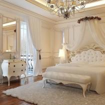 粉色欧式公主房装修效果图 (7 张图)图片