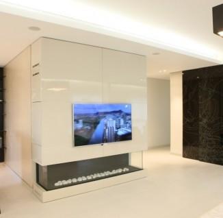 电视背景墙玫瑰壁纸图片