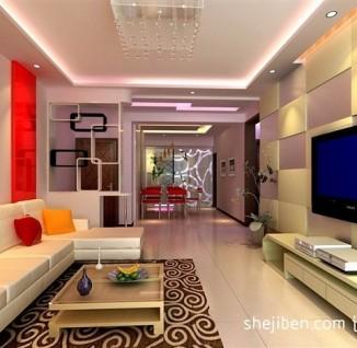 欧式客厅电视机背景墙