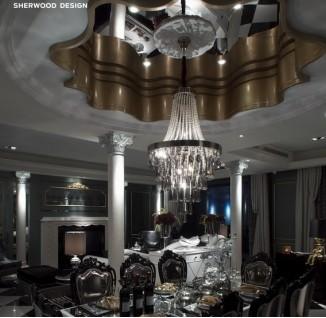 欧式餐厅吊顶造型设计