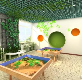 幼儿园外墙环境布置图片