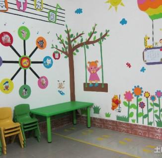 幼儿园小班墙面环境布置 - 6 - 装修图库 - 九正家居