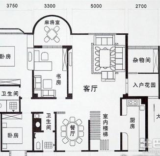 农村房屋平面图80平房设计图展示