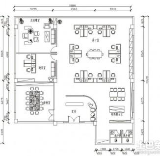 办公室平面图