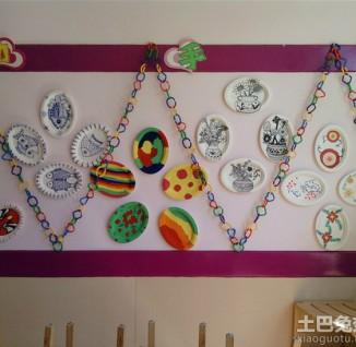 幼儿园主题墙饰设计图片展示图片