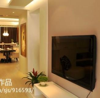 小户型客厅电视机背景墙效果图片大全