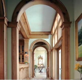 欧式拱形门洞图片