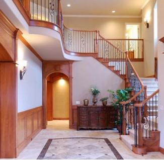 家装客厅地板砖效果图
